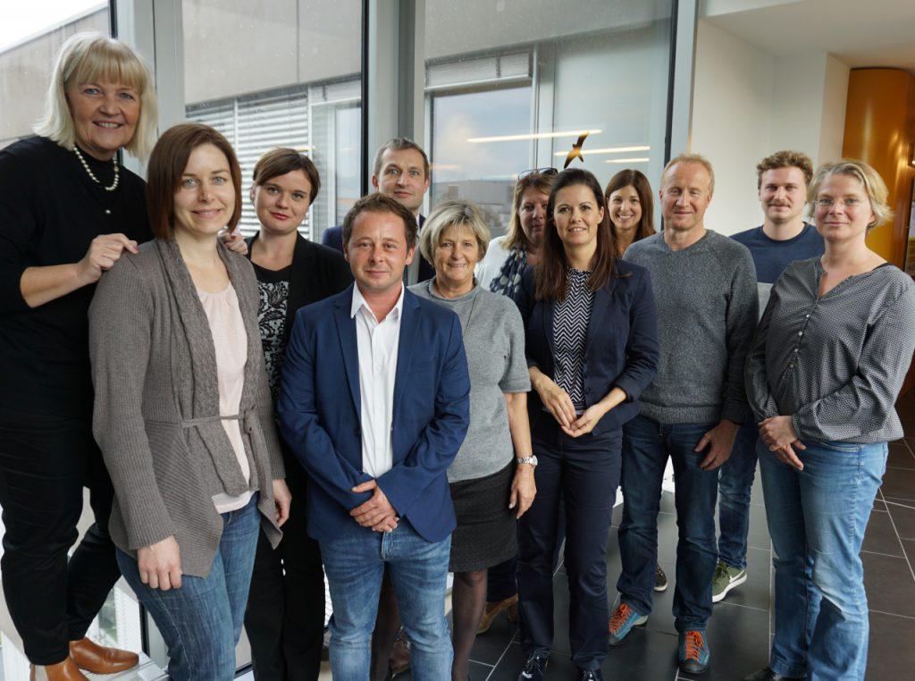 Foto der Teilnehmenden aus Deutschland, Österreich und der Schweiz