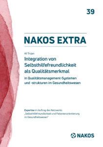 Bild des Covers der Fachpublikation NAKOS extra 39