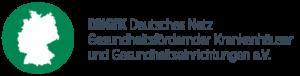 Logo Deutsches Netz Gesundheitsfördernder Krankenhäuser und Gesundheitseinrichtungen e.V.